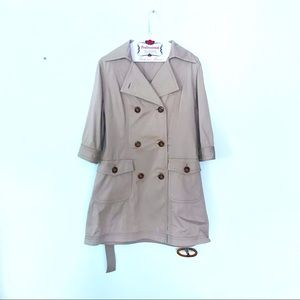 Kay Unger Perfect French Girl Summer Trench